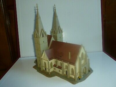 Train Z 1/220 Kibri  Ref  6818 Montage Artisan 40 Heures ! Cathedrale Superbe • 55€