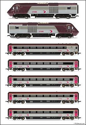Hornby Cross Country HST Sets, All Variants Available, You Choose! - OO Gauge • 283.70€