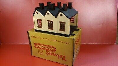 Boxed Triang TT Railways T28 Engine Shed, Very Nice, Exc Condition • 9.55€