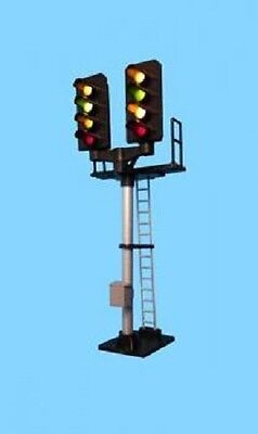 BERKO B644 OO SCALE 4 Light Signal Red/green/2yellow T Junction Square Head • 25.50€