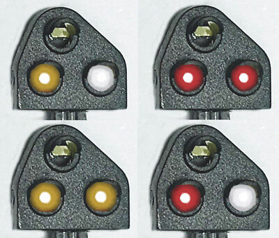 Train-Tech DCC Ground Signals, Original & Modern, Red & Yellow GS1 / GS2  OO/HO  • 39.55€