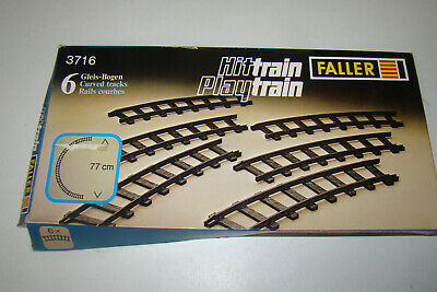 Rails Faller Hit Train Rails Droits Réf 3711 Rails Courbés Réf 3716  • 35€