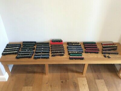 Job Lot Jouef / Lima / Triang ETC 00 Assorted Wagons Rolling Stock Coaches  ETC • 217.35€