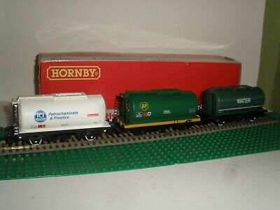 HORNBY RAILWAYS R148 ICI  BP WATER TTA TEA TANK WAGONS JOB LOT Of 3      • 4.47€