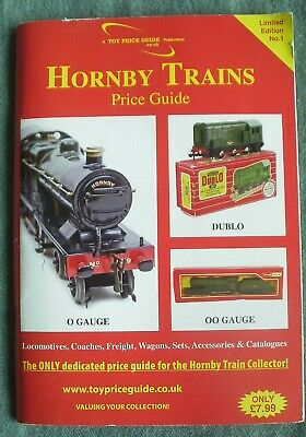 Hornby Trains Price Guide Limited Edition No 1 - Dublo O And OO Gauge Railway • 6.77€