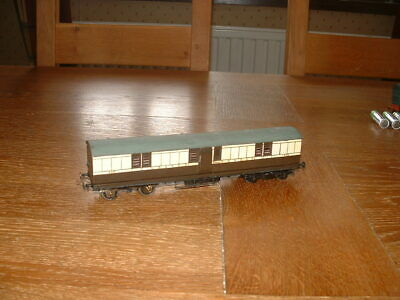 KIT BUILT LBSCR FULL BRAKE (Duckets) COACH No 438 In LBSCR Livery P4 Gauge • 40.91€