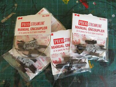Peco N Gauge Uncouplers. Lot 2. • 17.04€