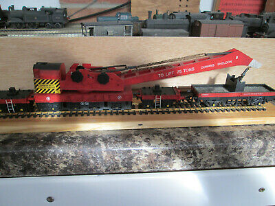 Hornby Breakdown Crane Weathered Red Livery • 28.12€