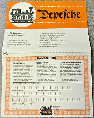 Lgb Leaflet - Limited Edition - G Scale - G Gauge - Free Next Day Delivery • 5.62€