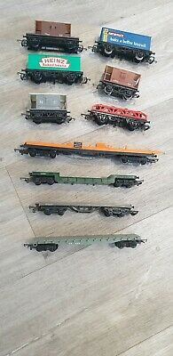 Mixed Bundle Of 00 Scale Trucks/Carriages Including Heinz & McVitites • 38.27€