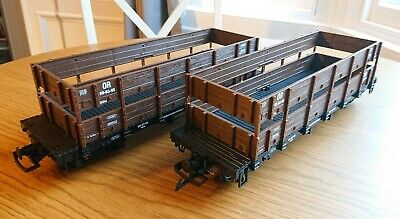 G Scale Cattle/Open Wagons X 2 • 20.01€