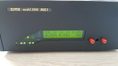 ZIMO MX1HS Model2000 2x 24V / 2x 8A DCC Digitalzentrale Oder DCC Booster • 700€