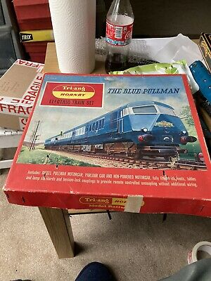 Triang Hornby Railways The Blue Pullman Train Set Boxed RS52 Tested Runs • 39.38€