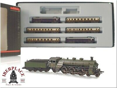 Z 1:220 Escala Trenes Modelismo Marklin Mini-club Rheingold DRG 81426 Set  < • 132€
