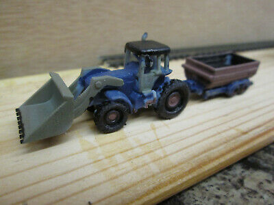 Tractor With Bucket And Trailer N Gauge • 5.64€
