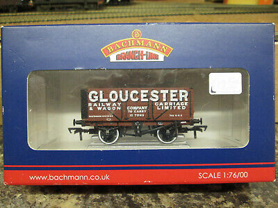 Bachmann 37-2012k 7 Plank Wagon Gloucester Carriage And Wagon Boxed. • 16.93€
