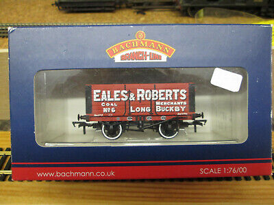 Bachmann 37-111 7 Plank Wagon Eales And Roberts (long Buckby)boxed. • 16.93€