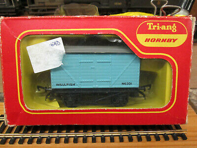 Triang/hornby R14 Fish Van Pale Blue Boxed. • 5.64€