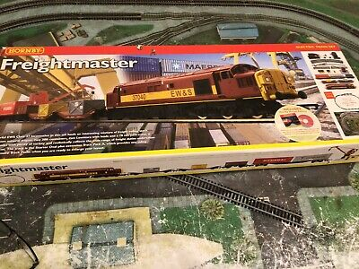 Hornby Boxed Freight Master R1054 00 Gauge Electric Train Set, Fully Working Set • 79.33€
