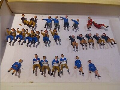 Starlux 26 Personnages Assis 1/43 No Preiser Dinky Toys • 30€