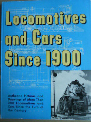 Locomotives And Cars Since 1900 Ed. Walther Lucas 1959 • 37.50€