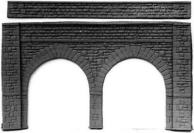 Stone Viaduct 380mm 214mm High Wall Forming L8 UNPAINTED O Scale Models Kit • 23.39€