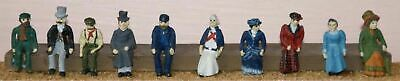 Victorian Edwardian F10p PAINTED OO Scale Langley Models People Figures 1/76 • 38.41€