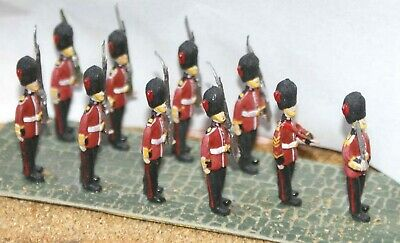 10 Gardes Marching F12p Peint Échelle Oo Langley Models People Chiffres 1/76 • 47.12€