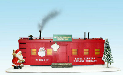 Neu USA TRAINS Christmas Workshop (Weihnachts-Scenery) Artikel R1940C • 159€