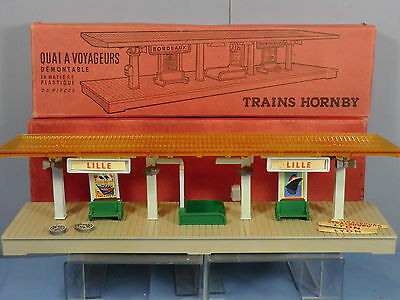 Vintage French Hornby     Country  Station  Quai Demontable   Vn Mib • 193.98€