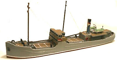 148ft Raised Foredeck Freighter/ Coaster UNPAINTED OO Scale Langley Models Kit • 191.20€