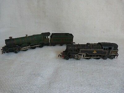 2 Hornby Dublo Locomotives. Bristol Castle & Tender And British Railways 80054 • 7.25€