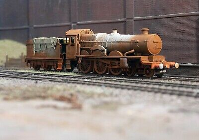 OO Gauge Scrapyard GWR Castle Loco, Heavily Rusted And Weathered. Ref 9 • 22.72€