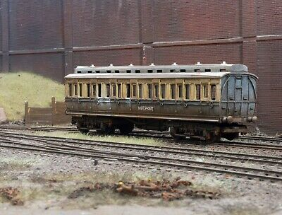 OO Gauge Abandoned GWR Clerestory Coach, Heavily Rusted And Weathered. Ref 9 • 22.72€