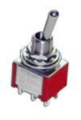 GAUGEMASTER GM505 Double Pole Double Throw Centre Off Mini Toggle Switch • 5.50€