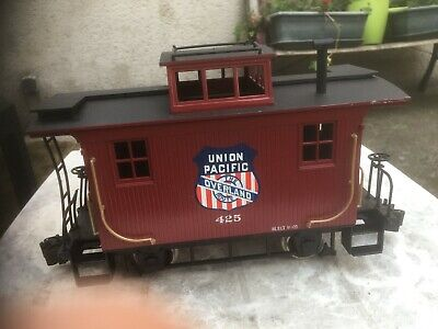 WAGON WESTERN CABOOSE UNION PACIFIC THE ROUTE OVERLAND 425 Ech G Bachmann LGB • 50€