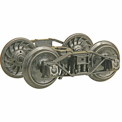Neu Spur G Kadee Arch Bar Metall Roller Bearing Trucks With 33 In. Ribbed Back • 59.90€