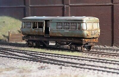 OO Gauge Abandoned Wagon With Scrap Load, Heavily Rusted And Weathered • 22.36€