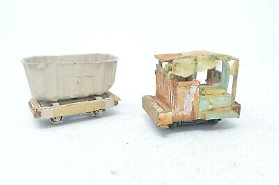 Handbuilt Narrow Gauge Rustic Unfinished Wagons X 2 - Highly Detailed! • 27.50€