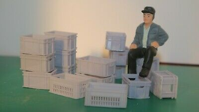 G-scale Model Scenery - The Crates Collection - GN15 • 12.38€