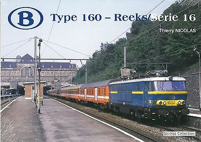 NicolasCollection 978-2-930748-33-7 BUCH SNCB NMBS Type160 Reeks/Série16 Neu+OVP • 34€