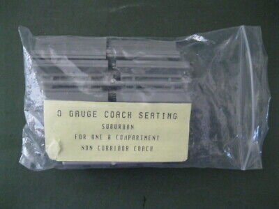 Cast Resin Coach Seating For 8 Compartment Coach • 2.24€