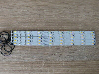 5x LED Waggonbeleuchtung 230 Mm  High Power Mit 8 PLCC 2 Dioden • 22.99€