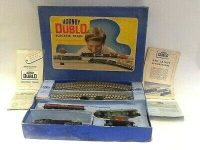 Vintage Hornby Dublo Electric Train Set 80054 Standard Tank 3 Rail • 61.94€