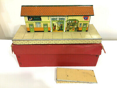HORNBY SERIES O Gauge No 3 Mainline Station With One Ramp - Boxed • 52.79€