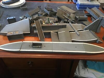 TRIANG HORNBY STATION CURVED PLATFORM & END RAMPS Many Other Parts. Tunnel End • 5.62€