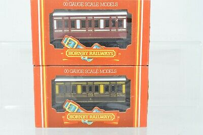 Hornby OO Gauge Rake Of 2 4 Wheel Coaches GWR/Caledonian - Boxed  • 17.28€