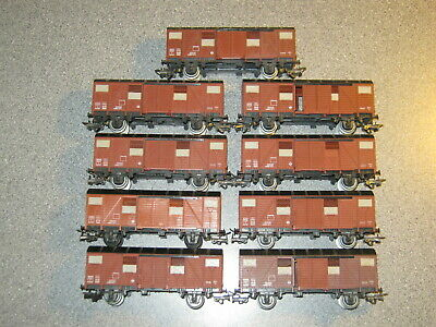 9 Jouef OO Gauge Cattle Vans • 44.68€