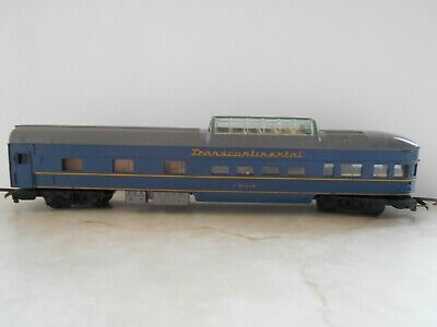 TRI-ANG  Oo  BLUE TRANSCONTINENTAL OBSERVATION COACH No 91119 • 8.94€