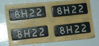 Tta Genuine / Original Triang Hornby Factory Label - Class 37 -  Headcode (4) • 2.25€